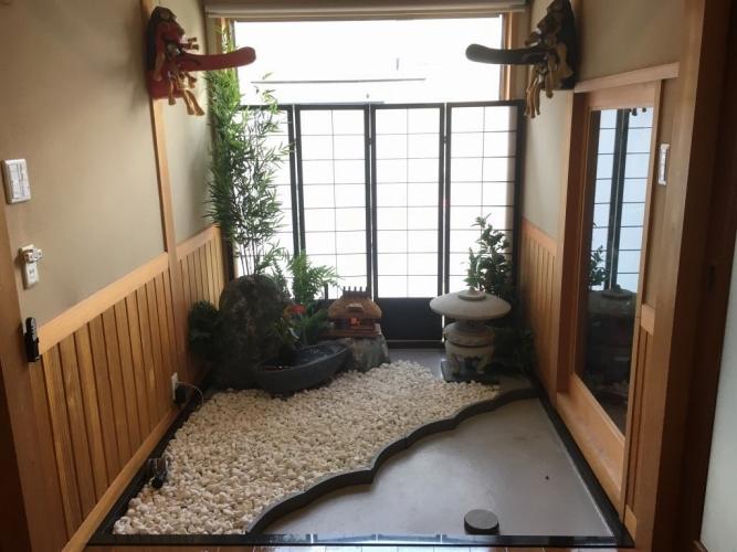 岡山市 H様 坪庭スペースの施工の施工実績After