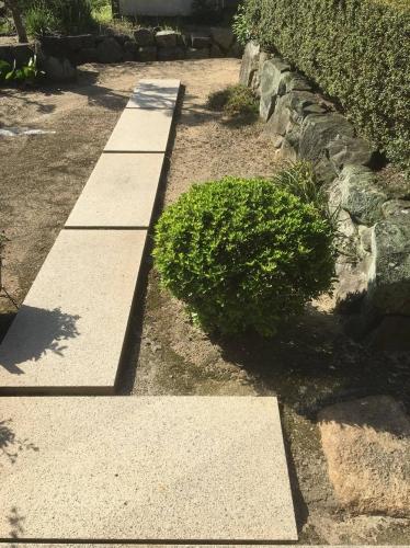 早島町 Y様 庭のリフォームの施工実績Before